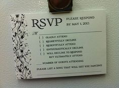 Funny Wedding Invitations Top 20 Hilarious Cards (shared via SlingPic)