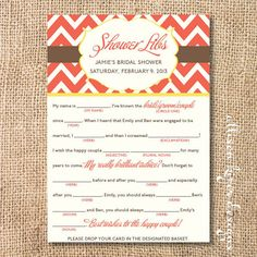 Printable Bridal Shower Game Customized by AllisonKizerDesigns