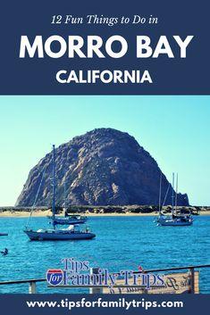 12 fun things to do in Morro Bay, California with kids | tipsforfamilytrips | #ad #MorroBay #MorroRock #California #otters #vacationideas #wildlife #tipsforfamilytrips #travel