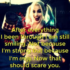 #BeautifulDisaster Queen Quotes, Girl Quotes, Woman Quotes, Harley And Joker Love, Joker And Harley Quinn, Psycho Quotes, Joker Quotes, Wisdom Quotes, True Quotes