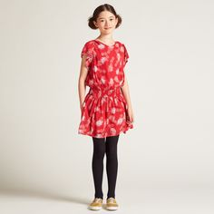 Older girls will love this super cool Chinese flower print hipster party dress with shirred drop waist detail, relaxed round neck and short skirt length. Hipster Party, Short Skirts, Short Sleeve Dresses, Kids Branding, Drop Waist, Punk Fashion, Shanghai, Party Dress, Girls Dresses
