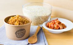 How to Cook: Korean Kimchi Quinoa by Superlife Co. Korean Kimchi, Organic Quinoa, Chilli Flakes, How To Cook Quinoa, Korean Food, Side Dishes, Salt, Yummy Food, Lovers