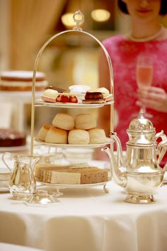 Champagne Afternoon Tea at The Ritz    http://www.theritzlondon.com/tea.html