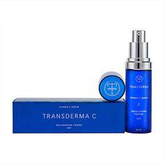 Transderma Skin Care Transderma C - revolutionary, deep-absorbing vitamin C serum for improved firmness, elasticity, and luster http://www.mytransderma.com/beautifulskin/2796-2/
