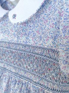 Smocked Baby Clothes, Girls Smocked Dresses, Smocked Clothing, Baby Girl Dress Patterns, Dress Sewing Patterns, Skirt Patterns, Coat Patterns, Blouse Patterns, Smocking Plates