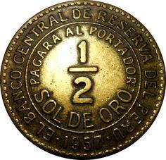 moedas antiga peruana