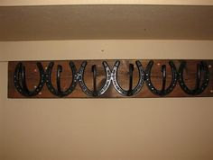 Horseshoe Coat Rack