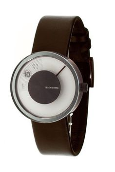 Unique looking watch Modern Watches, Cool Watches, Watches For Men, Men's Watches, Unique Watches, Simple Watches, Amazing Watches, Issey Miyake, Herman Miller