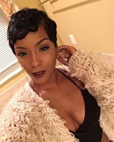 Beautiful short pixie hairstyles wigs for black women lace front wigs human hair wigs african american wigs buy now Short Human Hair Wigs, Short Hair Cuts, Short Cut Wigs, Pixie Cut Wig, Short Pixie, Curly Pixie, Blonde Pixie, Pixie Cuts, Curly Afro
