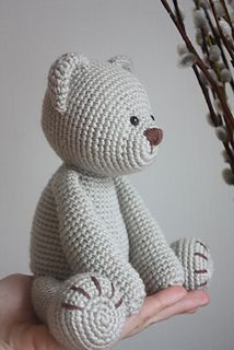 Amigurumi creations by Laura: New Teddy Bear PDF Pattern Yes. Amigurumi creations by Laura: New Teddy Bear PDF Pattern Yes. Crochet Diy, Crochet Gratis, Crochet Patterns Amigurumi, Crochet Dolls, Crochet Stitches, Crocheted Toys, Simple Crochet, Crochet Mignon, Crochet Bear Patterns