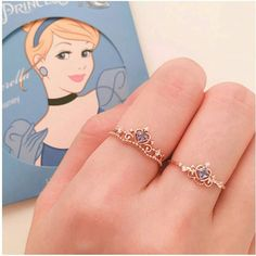 Your custom and printed jewelries and accessories by OggiStore Disney Princess Jewelry, Disney Jewelry, Disney Rings, Cute Jewelry, Silver Jewelry, Jewelry Accessories, Cute Disney Outfits, Skull Fashion, Emo Fashion