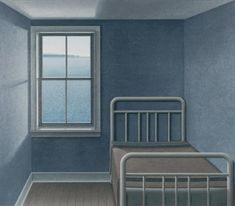 A Room at St. Vincent's, 1992 by Christopher Pratt on Curiator, the world's biggest collaborative art collection. Christopher Pratt, Chris Pratt, Canadian Painters, Canadian Artists, Mary Pratt, Artsy Background, Magic Realism, Digital Museum, Collaborative Art