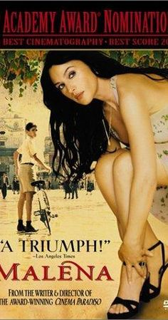 Directed by Giuseppe Tornatore. With Monica Bellucci, Giuseppe Sulfaro, Luciano Federico, Matilde Piana. A woman provokes sensual awakenings in a group of adolescent boys.