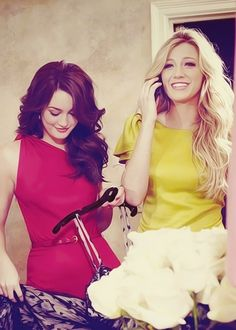 Blake and Leighton.....girl crushes....