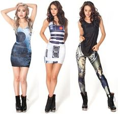 The merging of my two worlds...fashion and geeks #mindblown #fashion #star_wars