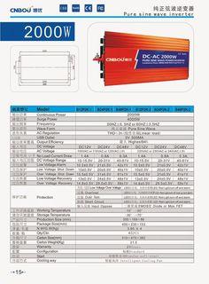 CNBOU 2000w pure sine wave inverter http://www.aliexpress.com/store/131423