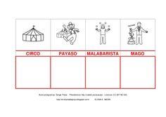 pictogramas CIRCO PAYASO Autor: Sergio Palao Malabarista Procedencia: http://catedu.es/arasaac/ Licencia: CC (BY-NC-SA ...