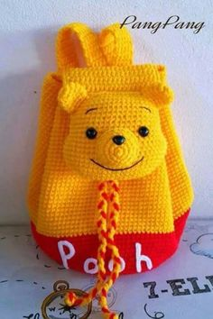 Pooh Bear backpack