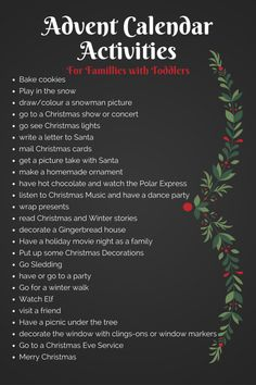 Advent calendar activities for families with toddlers toddler advent activities how to teach Advent to your kids crafts and activities for children in advent season preparing for the holidays Christmas winter fun Winter Christmas, Christmas Holidays, Christmas Decorations, Winter Fun, Christmas Tables, Nordic Christmas, Modern Christmas, Christmas To Do List, Christmas Stockings