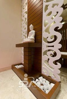 Best Miscellaneous Design in India Wooden Partition Design, Living Room Partition Design, Pooja Room Door Design, Living Room Tv Unit Designs, Room Partition Designs, Foyer Design, Home Room Design, Wood Partition, Home Entrance Decor