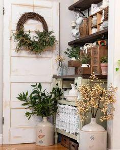 Bay Leaf Tree, Umbrella Tree, Dark House, Keep The Lights On, Pretty Green, Seed Pods, Farmhouse Decor, White Farmhouse, Farmhouse Style