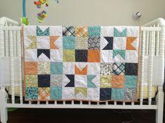 Cute quilt design.