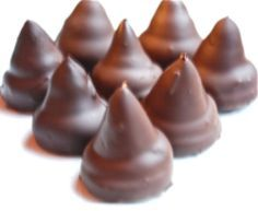 Havannets - Argentinian Dulce de Leche Chocolate Conitos: Havannet Cookies - Argentinian Dulce de Leche Chocolate Candy Conitos