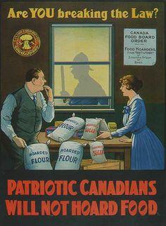 WWI Canada