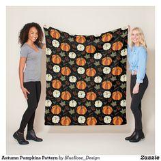 Autumn Pumpkins Pattern Fleece Blanket Outdoor Events, Fall Pumpkins, Seasonal Decor, Keep It Cleaner, Fleece Blankets, Autumn, Pattern, Thanksgiving, Decorations