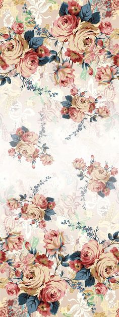 63 ideas for flowers vintage printable decoupage Vintage Flowers Wallpaper, Flower Wallpaper, Vintage Wallpapers, Flower Pattern Design, Flower Designs, Design Patterns, Design Ideas, Design Inspiration, Flower Backgrounds