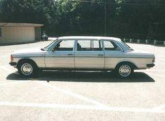 Stretch Diesel: 1982 Mercedes Benz 300D Limo