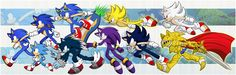All sonic forms