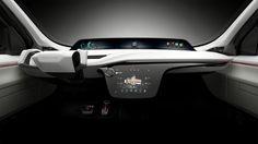 Chrysler debuts its Portal Concept, an electric minivan, at CES in Las Vegas. The Portal is semi autonomous and can travel more than 250 miles per charge. Car Interior Sketch, Car Interior Design, Interior Concept, Automotive Design, Selfies, Digital Dashboard, Las Vegas, Monospace, Tech Gadgets