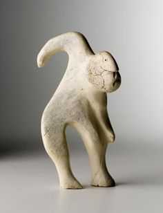 Inuit bone sculpture