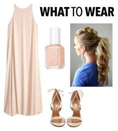 """""""What to wear #1"""" by skyfashionista on Polyvore featuring Aquazzura and Essie"""