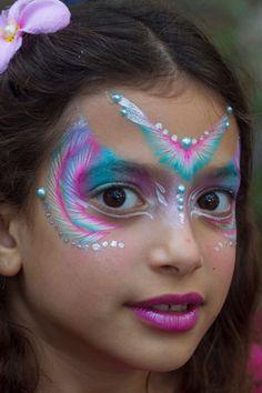 Indian princess face paint