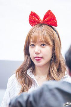 dedicated to female kpop idols. South Korean Girls, Korean Girl Groups, Namjoo Apink, Pink Panda, Eun Ji, My Wife Is, Cube Entertainment, Dimples, Korean Singer