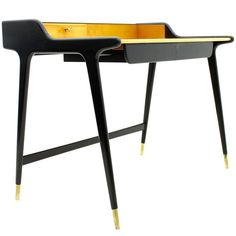 Ladies Desk by Reinhold Stotz, 1955 | From a unique collection of antique and modern desks and writing tables at https://www.1stdibs.com/furniture/tables/desks-writing-tables/