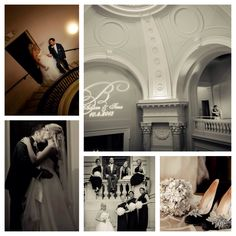 Black and white urban glam wedding - Washington DC Wedding