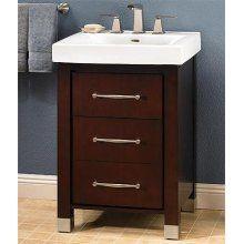 Fairmont Designs Midtown 145-V24B Vanity and Sink with Door