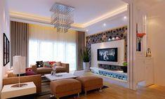 Zeitgenössische Wohnzimmer Mit TV Wand Ideen Möbel Die Dekoration Schöne  Moderne Wohnzimmer Mit Modernen Tv