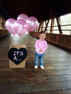 Cutest gender reveal photo!