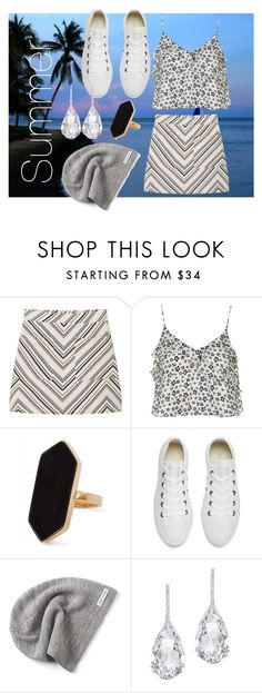 """summer"" by winolamegan on Polyvore featuring MANGO, Topshop, Jaeger, Converse and Plukka"