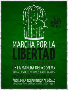 """""""¡Por La Libertad!""""  FUE EL ESTADO #MéxicoEstadoFallido #MéxicoViolento #Impunidad #Represión #DDHH #Ayotzinapa #Iguala #Guerrero #México #Normalistas #AyotzinapaSomosTodos #JusticiaParaAyotzinapa #JusticeForAyotzinapa #YoSoyAyotzinapa  #AcciónGlobalPorAyotzinapa #Artículo39RenunciaEPN #EPN #PresosPolíticosLIBERTAD #DesapariciónForzada #20NovMx"""