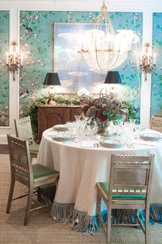 Chinoiserie dining r