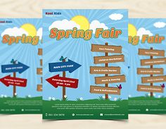 """Check out new work on my @Behance portfolio: """"Spring Fair Flyer Template"""" http://be.net/gallery/49405539/Spring-Fair-Flyer-Template"""