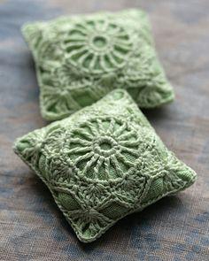 Lavender sachets by namolio, via Flickr