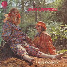 Stoned Clown Couple trying to be Nihilists | Community Post: The 11 Creepiest Album Cover Clowns