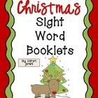 4 FREEBIE Christmas sight word books! Happy holidays everyone :)