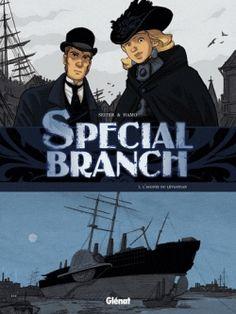 Couverture Special Branch, tome 1 : L'agonie du léviathan